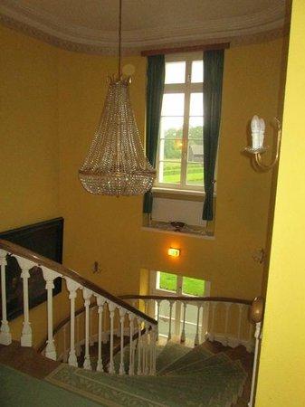 Hotel Schloss Westerholt: grand escalier