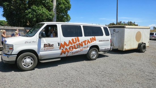 Paia, Hawaï: van that was following us in the back