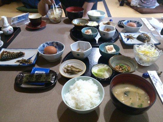 Sanso Tsurunoyu: 소박한 아침식사