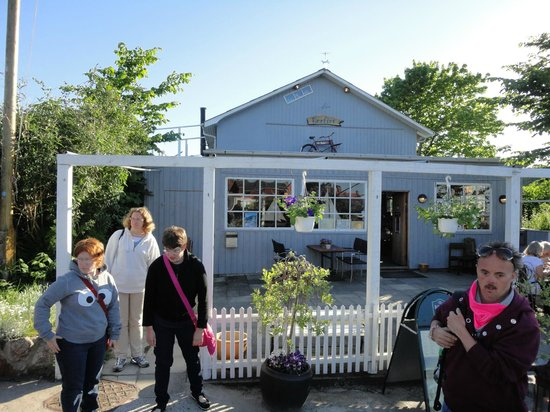 Cafe Vaerftet : Café Værftet - Sandvig