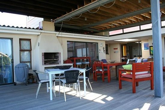 Ocean Dreams B&B : Braai Area & Family Deck