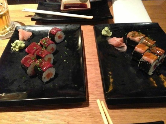 Nakashita: Spicy Sake y Spicy Tuna