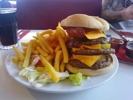 Church Gresley, UK: Scooby Snax Burger