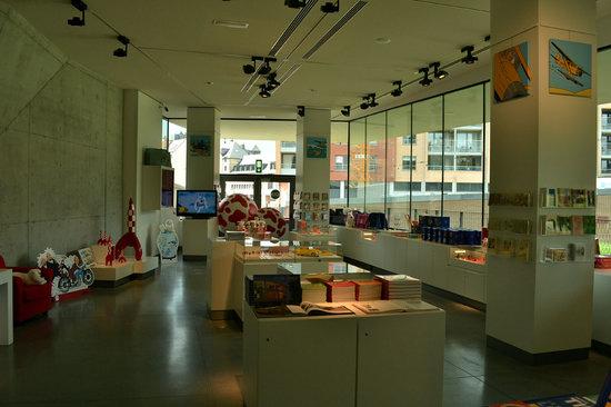 Musée Hergé : Tintin Boutique