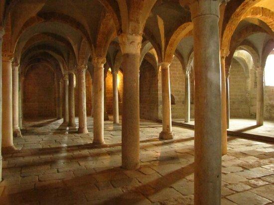 Church of San Pietro: cripta