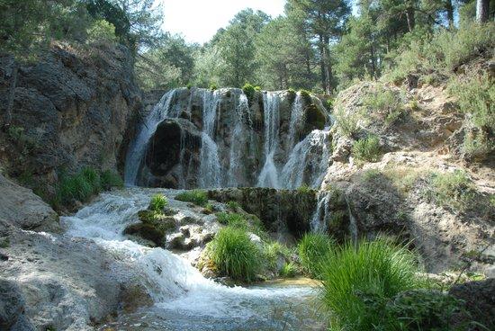 Cuevas Andalucia: cascade visitée avec Sam