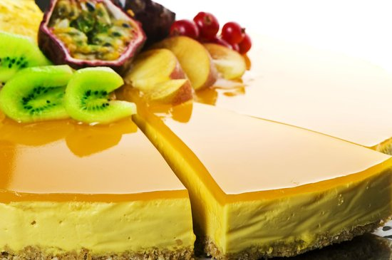 Rhapsody Restaurant: Mango cheese cake