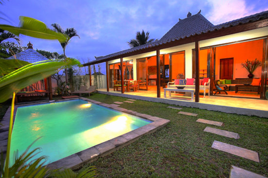 Iman Villas 'Real Bali' Luxury Ubud Villas : Private Pool & Garden