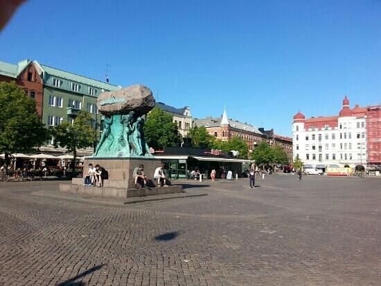 Malmö, Suecia: The Möllevångstorget square