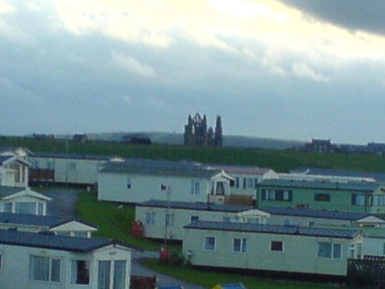 Whitby Holiday Park: Whitby Abbey from the site