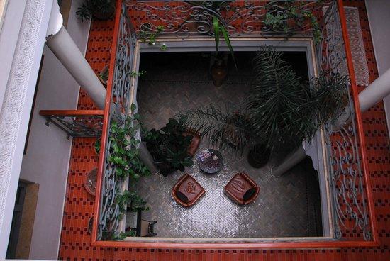 Riad Perle d'Eau : le Riad vu d'en haut