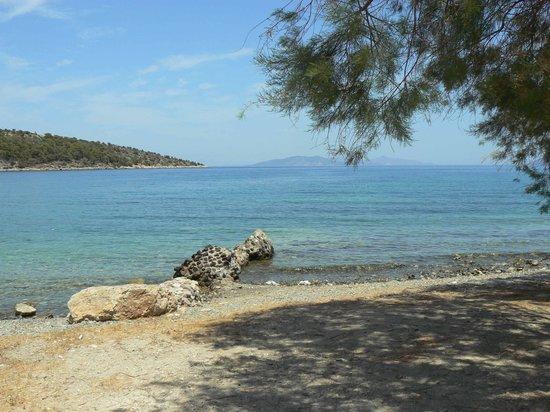 Hotel Saronis: Epidavros beach