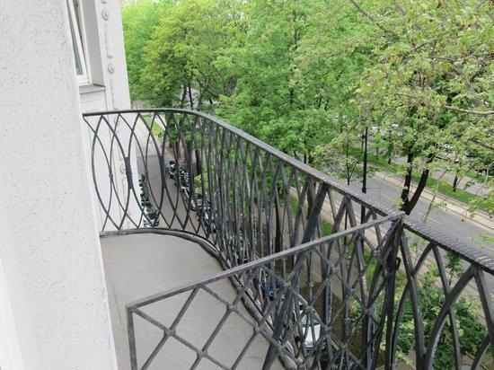 Das Opernring Hotel: вид на Опернринг