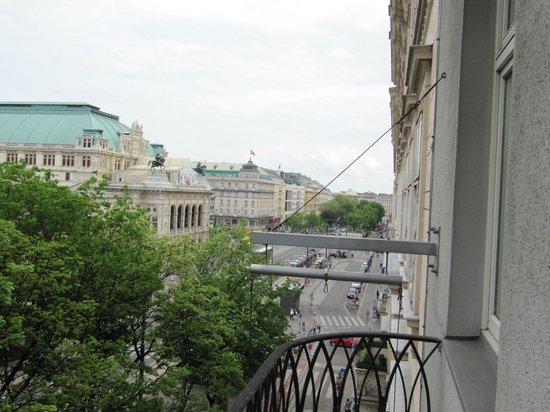 Das Opernring Hotel: балкон