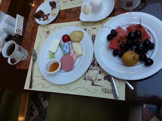 Ankara Gordion Hotel : Breakfast