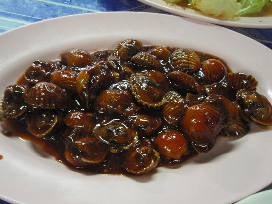 Aik Kee Seafood: Stir-fried sweet and sour spicy cockles