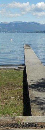 Hotel Conca Azzurra : pontile sul lago