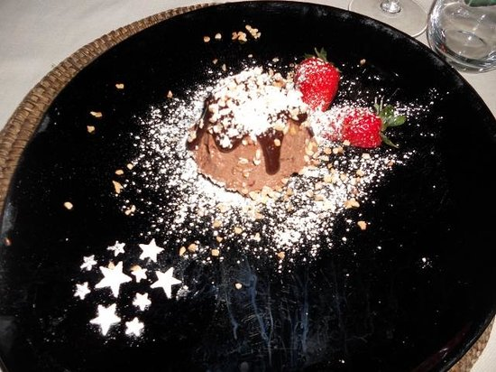 Hotel Conca Azzurra : Dolce - Cena