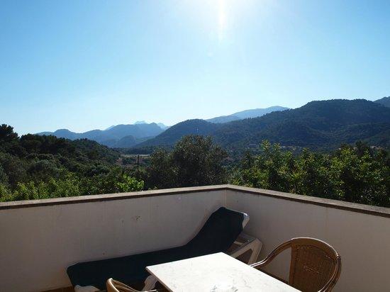 Finca Can Guillo: Blick von der Terrasse