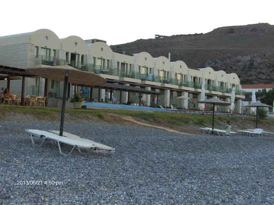 Grand Bay Beach Resort: Hotel od frontu