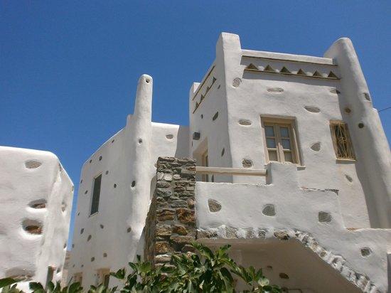 """Facade de """"Villas Byzantino"""""""