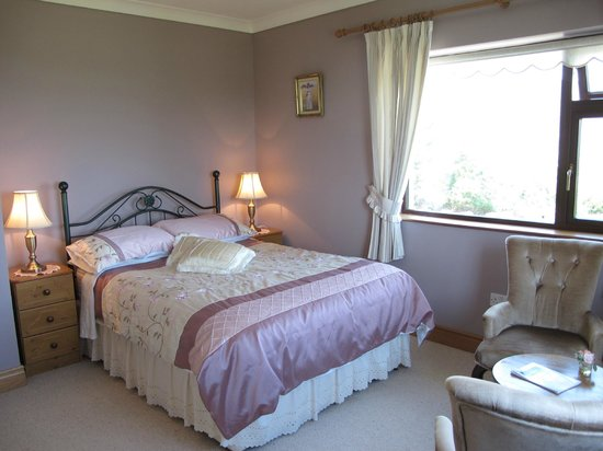 Hillside House B & B: Double ensuite room