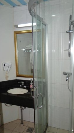 Beijing Jade International Youth Hostel : Bathroom