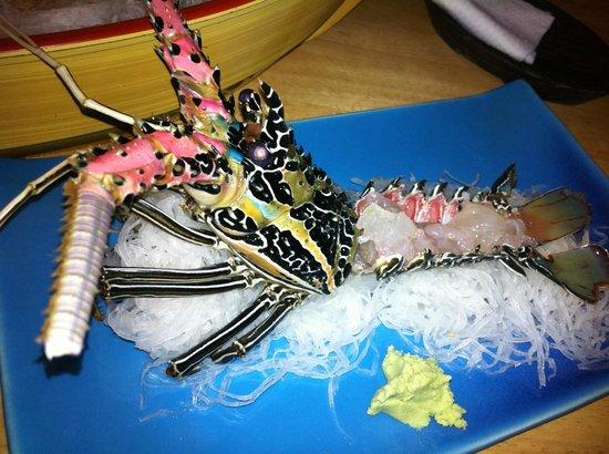 Take I Japanese Restaurant : лобстер-сашими