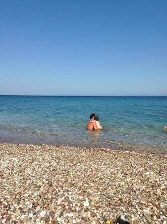 Akdeniz Bahcesi: Am Strand
