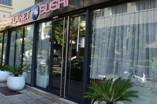 Bienvenue au Planet Sushi