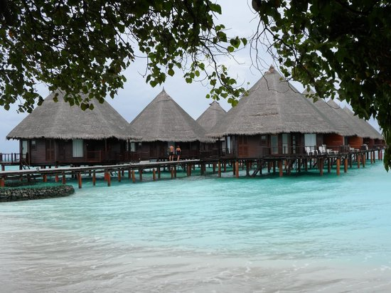Velidhu Island Resort: Water bungalows