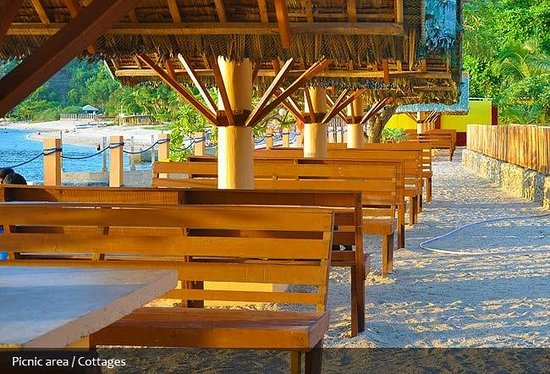 Bauan, Filippinene: Picnic Area and Cottages