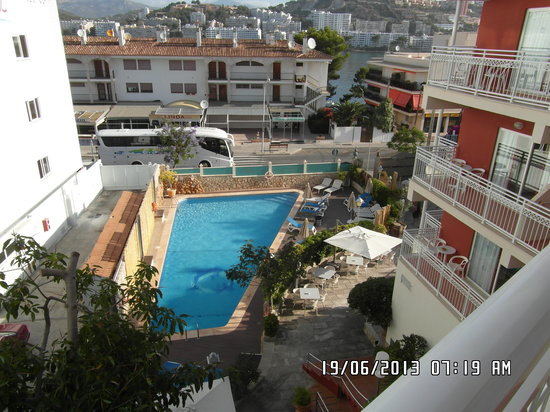 Playas del Rey Hotel: view rom 313