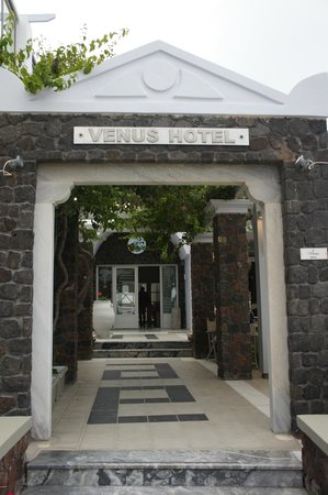 Afroditi Venus Beach Hotel & Spa: Venus entrance