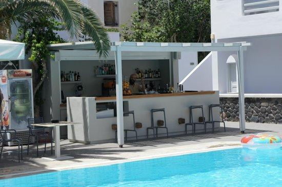 Afroditi Venus Beach Hotel & Spa: Pool bar