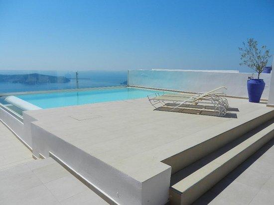 ... Estate Villa: piscine à débordement vue imprenable sur la Caldera