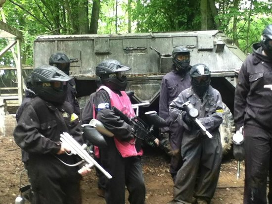 ‪‪Delta Force Paintball Banbury‬: One of the games‬