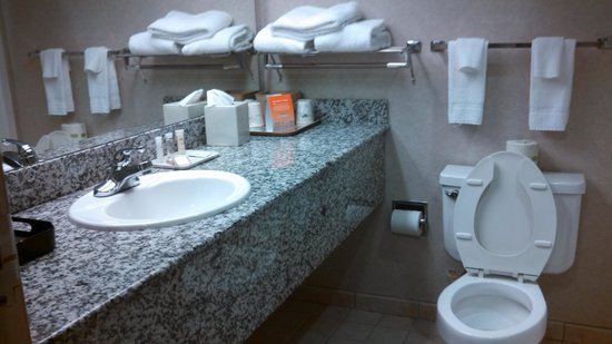 Howard Johnson Inn Lexington: clean bathroom good water pressure