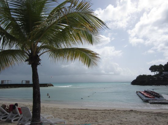 La Creole Beach Hotel: La plage de l'hôtel