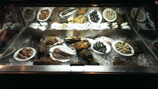 Megaro Restaurant: What a selection