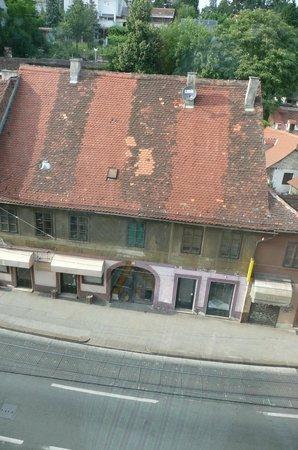 Hotel Jadran Zagreb: Aussicht auf Strasse