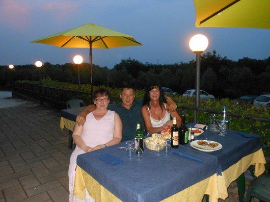 Agriturismo La Scalera: last dinner... bouno !!!!!!!!