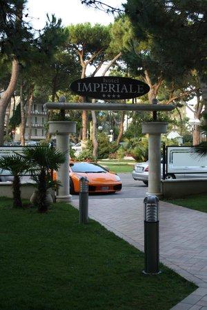 Hotel Imperiale: Ingresso