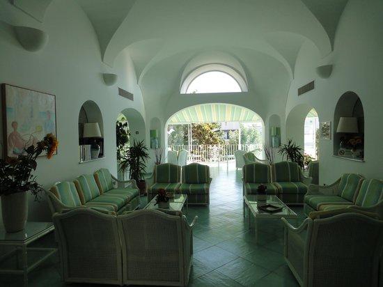 Hotel Floridiana Terme: Zona hall