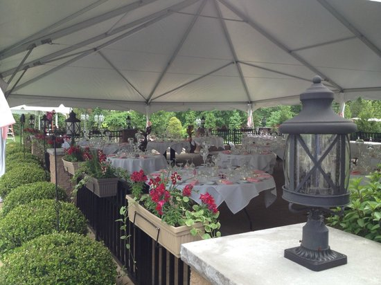 Locale Cafe & Bar -Closter: Wedding Tent