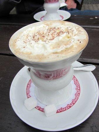 Romantik Hotel Schloss Rheinfels: Rüdesheimer Kaffee
