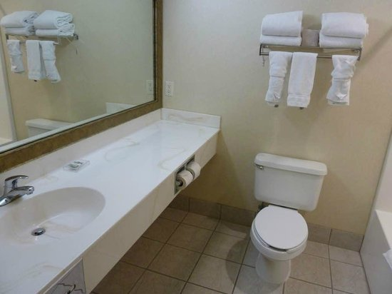 Country Inn & Suites by Radisson, Rapid City, SD: Bathroom