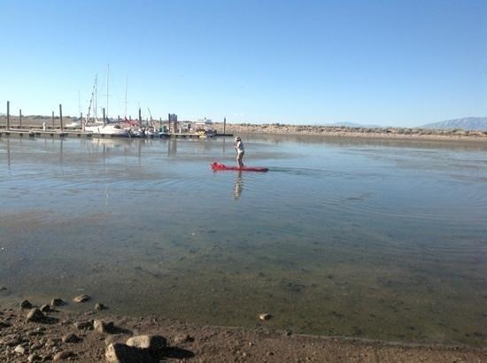 Syracuse, UT: Antelope island marina