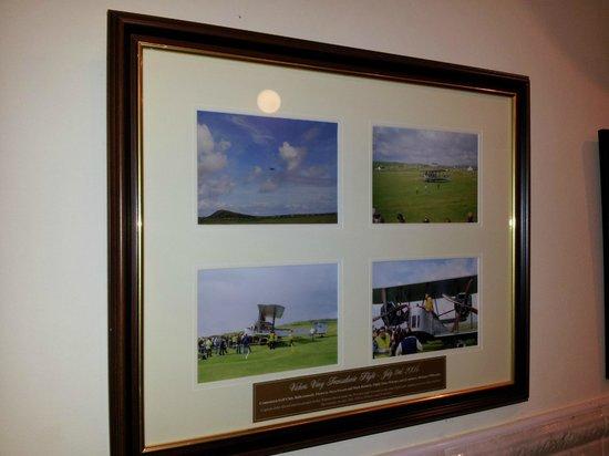 Abbeyglen Castle Hotel : Alcock & Brown memorial flight pics