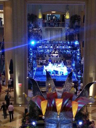 The Venetian Las Vegas: zona concerto
